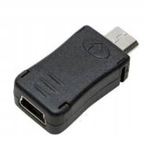 ADAPTER LOG AU0010 MINI USB GNIAZDO MIKRO USB WTYK