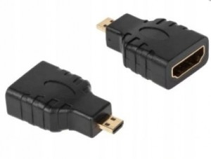 ADAPTER GNIAZDO HDMI / WTYK MIKRO HDMI ECONOMIC
